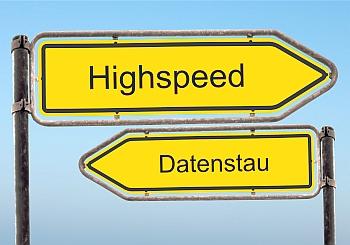 Strassenschild 39 - Highspeed